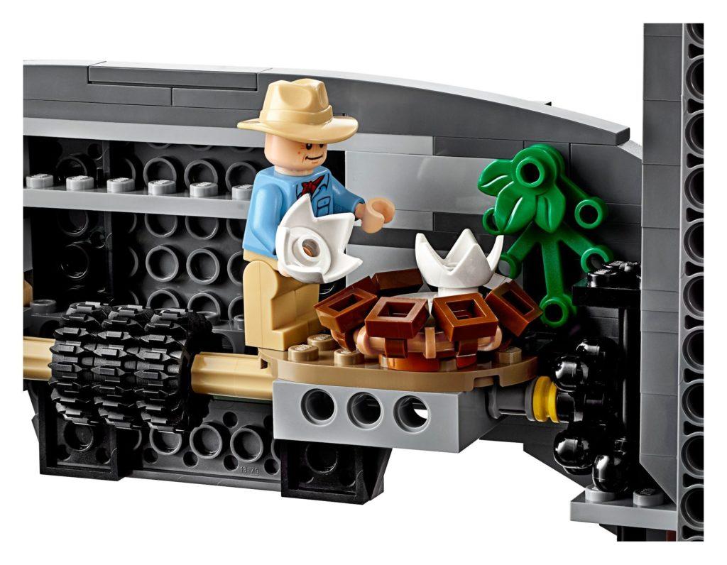 LEGO® 75936 - Alan Grant entdeckt Dinonest | ©LEGO Gruppe