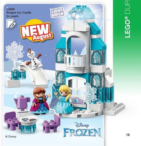 LEGO Katalog 2. Halbjahr 2019 - DUPLO Frozen Eispalast | ©LEGO Gruppe
