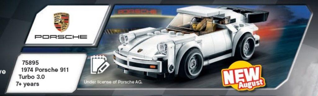 LEGO Katalog 2. Halbjahr 2019 - Speed Champions weisser Porsche 911 | ©LEGO Gruppe