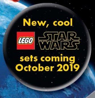 LEGO Katalog 2. Halbjahr 2019 - Star Wars Oktober-Teaser | ©LEGO Gruppe