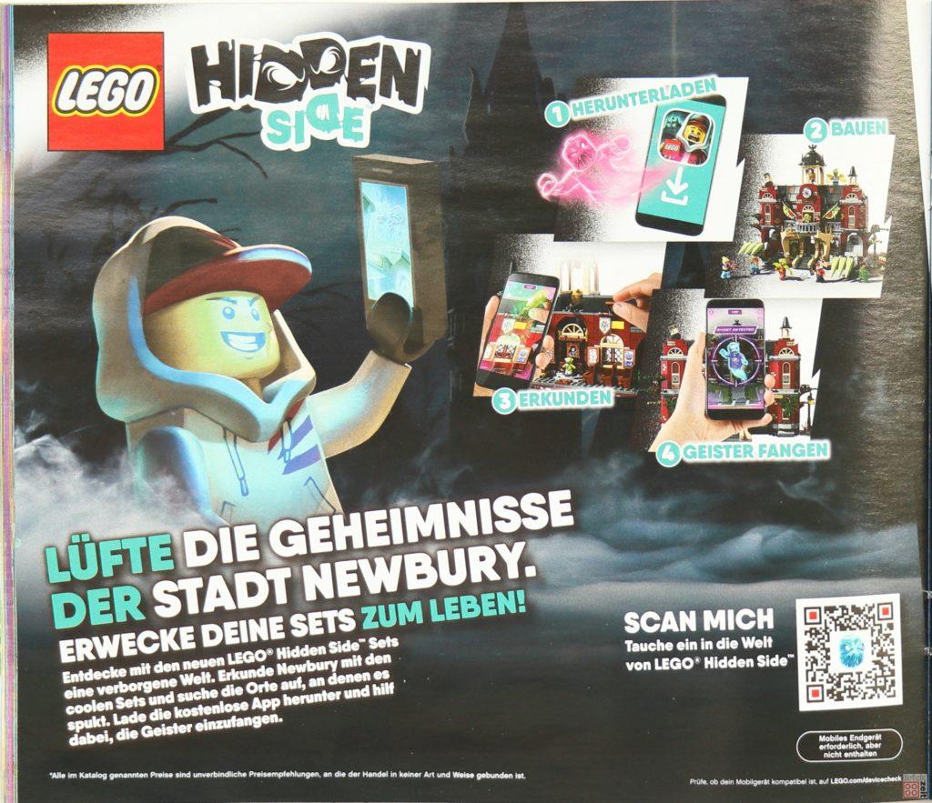 LEGO Katalog Deutschland 2. Halbjahr 2019 - LEGO Hidden Side, Seite 1