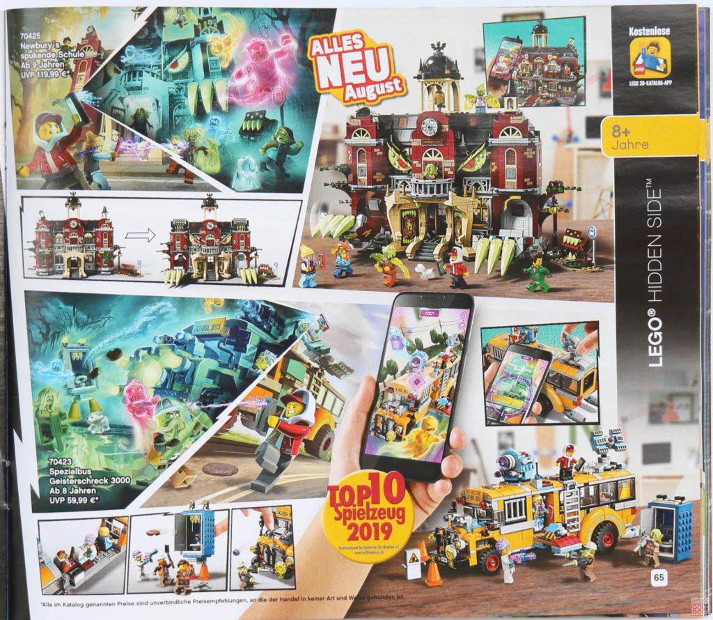 LEGO Katalog Deutschland 2. Halbjahr 2019 - LEGO Hidden Side, Seite 2