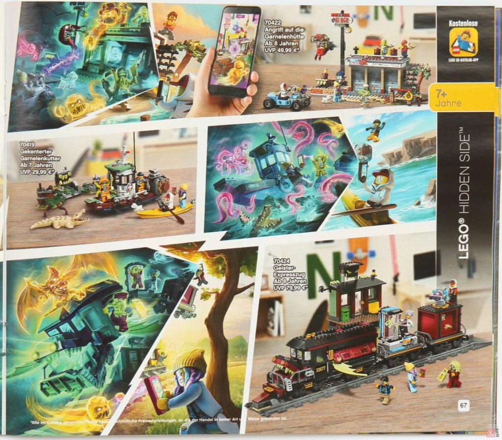 LEGO Katalog Deutschland 2. Halbjahr 2019 - LEGO Hidden Side, Seite 4
