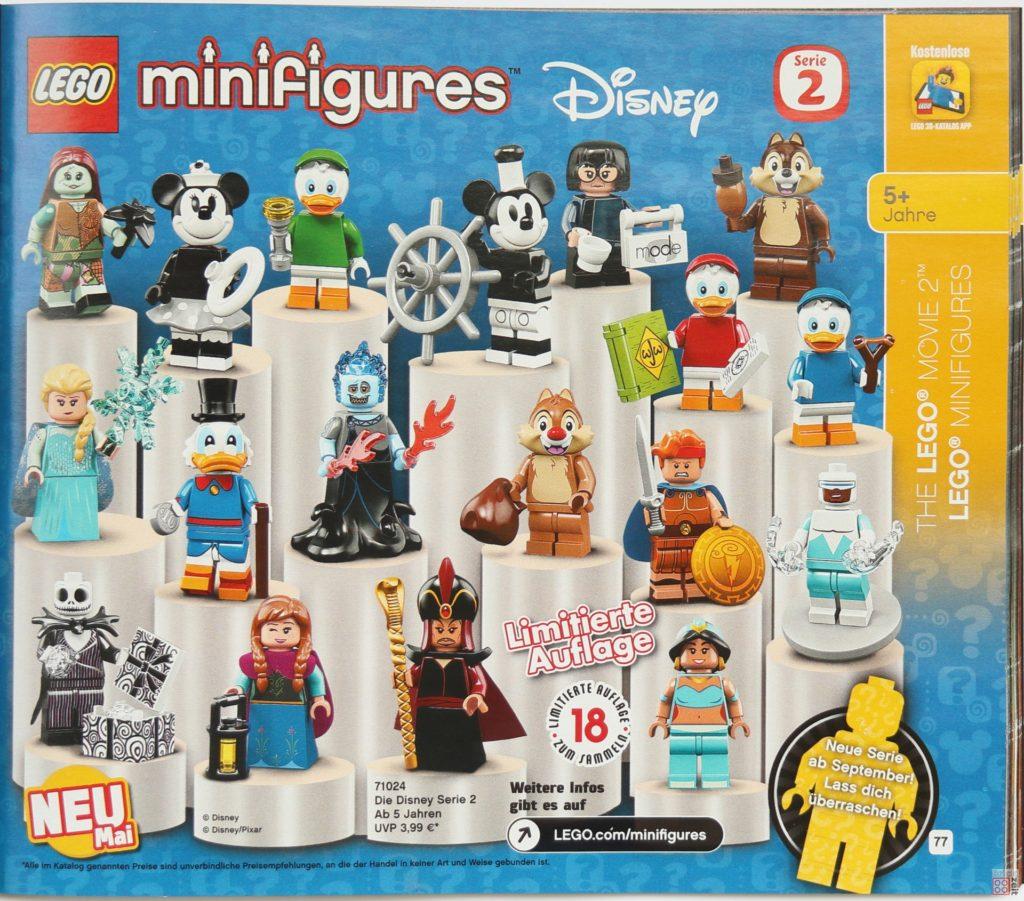 LEGO Katalog Deutschland 2. Halbjahr 2019 - LEGO Minifiguren