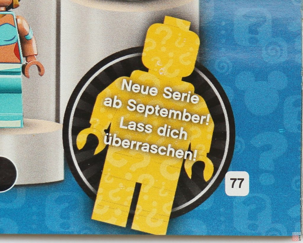 LEGO Katalog Deutschland 2. Halbjahr 2019 - LEGO Minifiguren Teaser September 2019