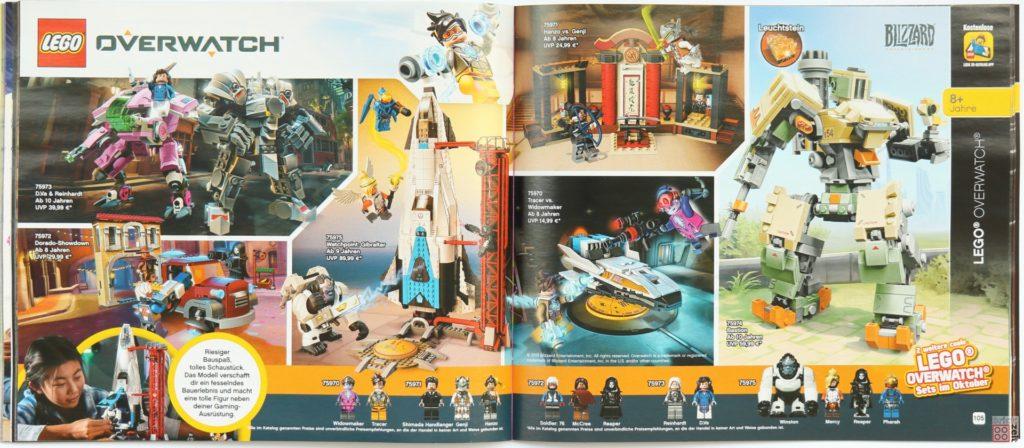 LEGO Katalog Deutschland 2. Halbjahr 2019 - LEGO Overwatch Oktober