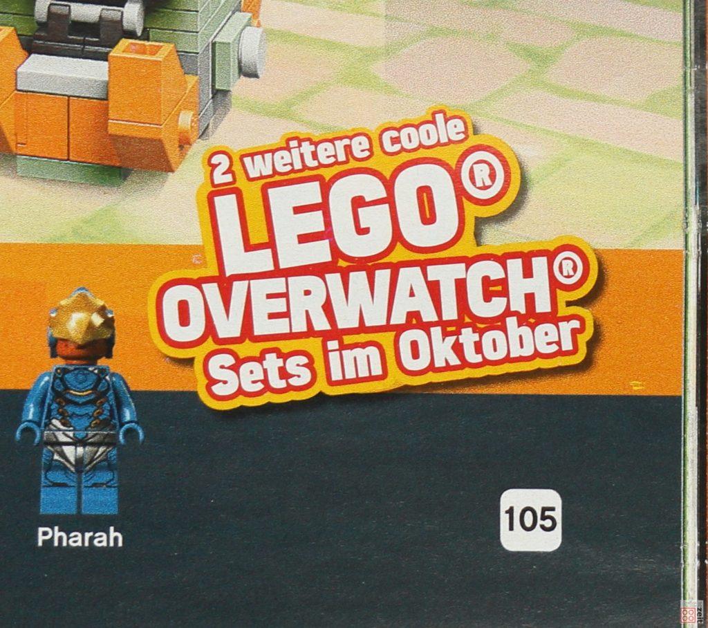 LEGO Katalog Deutschland 2. Halbjahr 2019 - LEGO Overwatch Oktober Teaser