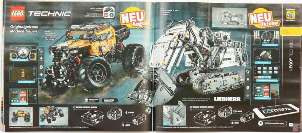 LEGO Katalog Deutschland 2. Halbjahr 2019 - LEGO Technic Bild 1