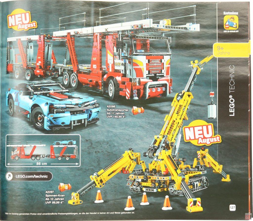 LEGO Katalog Deutschland 2. Halbjahr 2019 - LEGO Technic Bild 2