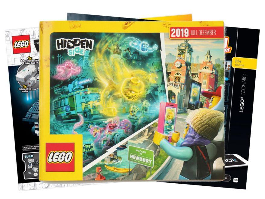 LEGO Katalog Deutschland 2. Halbjahr 2019 - Titelbild