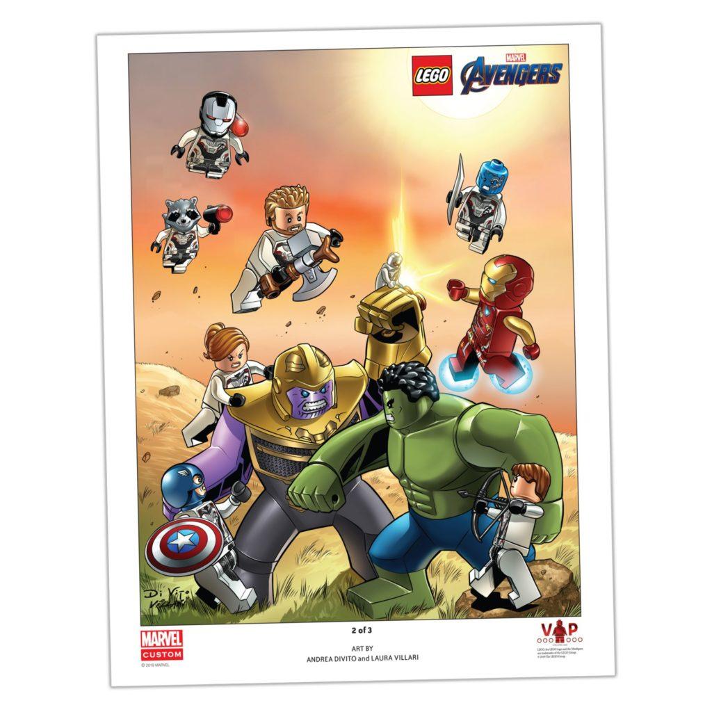 LEGO® Marvel Poster 2 von 3 (5005881) | ©LEGO Gruppe