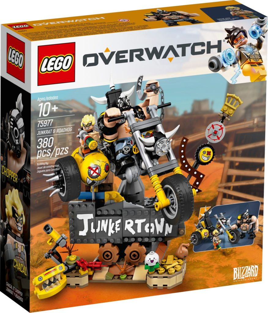 LEGO® Overwatch 75977 Junkrat and Roadhog | ©LEGO Gruppe