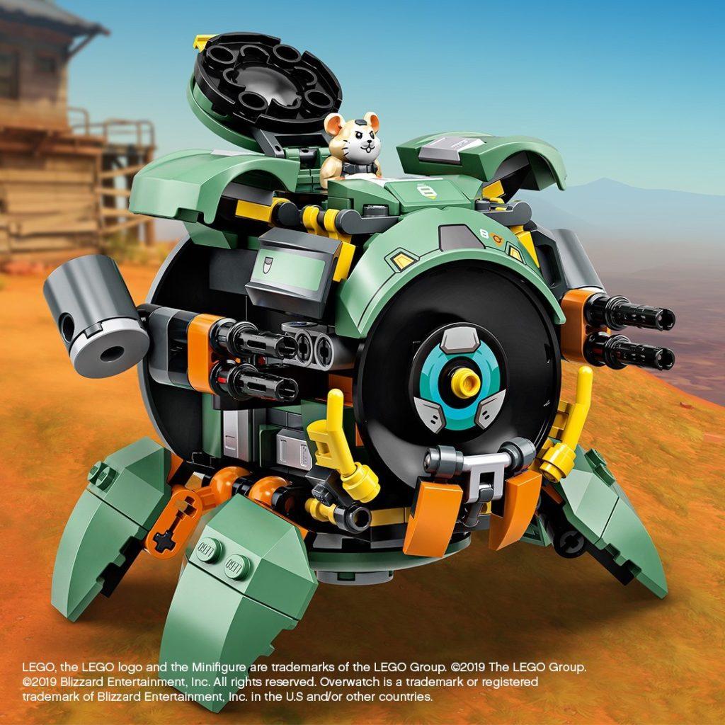 LEGO® Overwatch Wrecking Ball Teaser | ©LEGO Gruppe