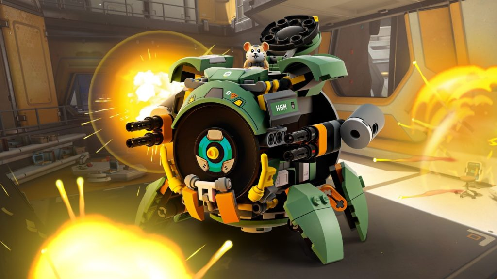 LEGO® Overwatch 75976 Wrecking Ball | ©LEGO Gruppe