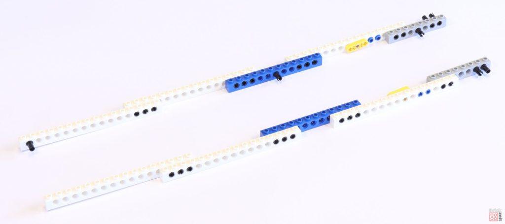 LEGO 75244 - Bauabschnitt 1, Grundgerüst 1 | ©2019 Brickzeit