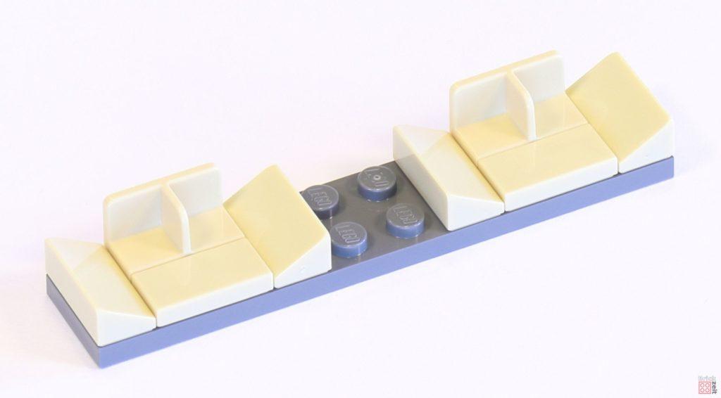 LEGO 75244 - Bauabschnitt 1, Cockpitsitze | ©2019 Brickzeit