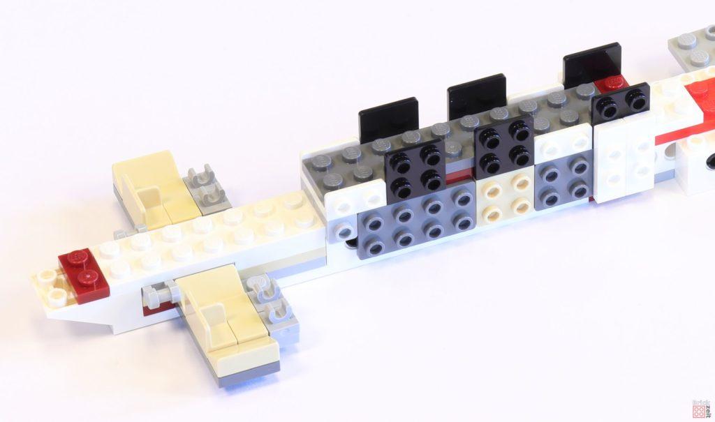 LEGO 75244 - Bauabschnitt 1, vorderer Schiffsteil | ©2019 Brickzeit