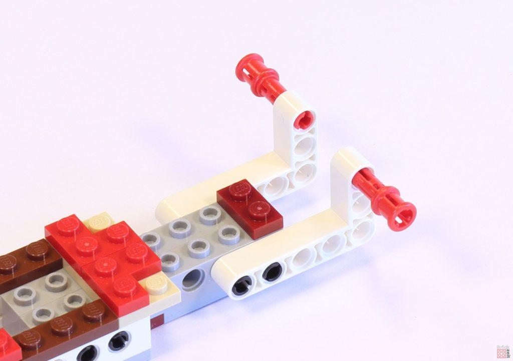 LEGO 75244 - Bauabschnitt 1, Befestigung | ©2019 Brickzeit