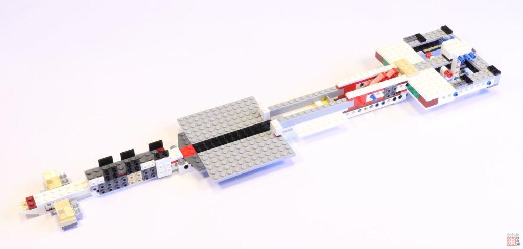 LEGO 75244 - Bauabschnitt 1 ist abgeschlossen | ©2019 Brickzeit