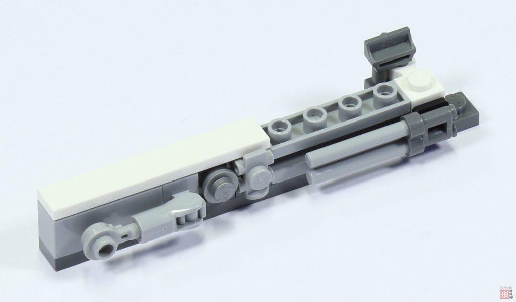 LEGO 75244 - Bauabschnitt 2, linke Wand | ©2019 Brickzeit