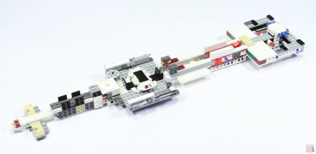 LEGO 75244 - Bauabschnitt 2, fertiger Teilabschnitt | ©2019 Brickzeit