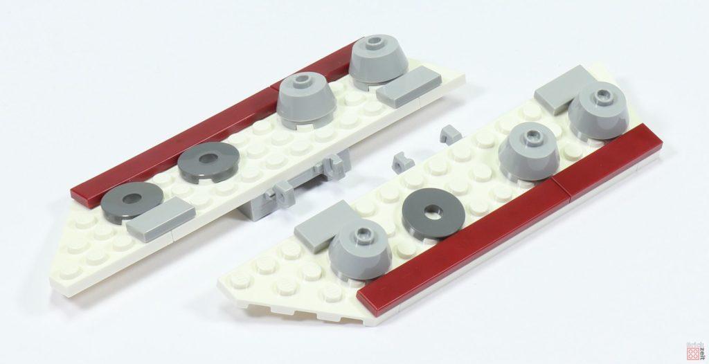 LEGO 75244 - Bauabschnitt 2, untere Rumpfwände | ©2019 Brickzeit