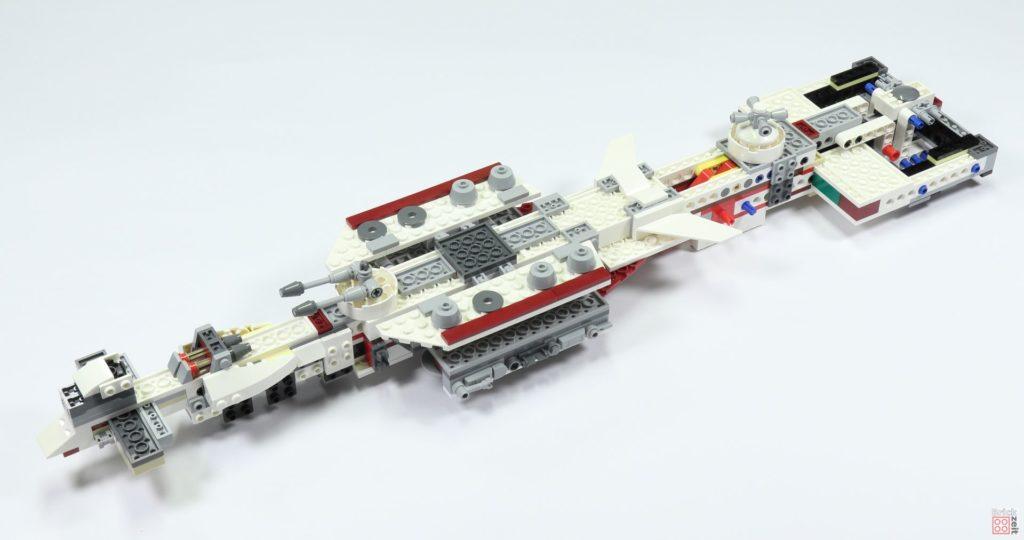 LEGO 75244 - Bauabschnitt 2, vollständige Unterseite | ©2019 Brickzeit