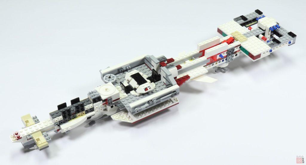 LEGO 75244 - Bauabschnitt 2, vollständige Oberseite | ©2019 Brickzeit