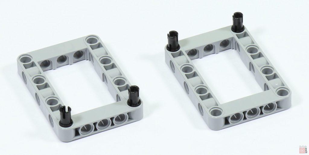 LEGO 75244 - Bauabschnitt 3, Technic-Elemente zur Befestigung von Antrieben | ©2019 Brickzeit