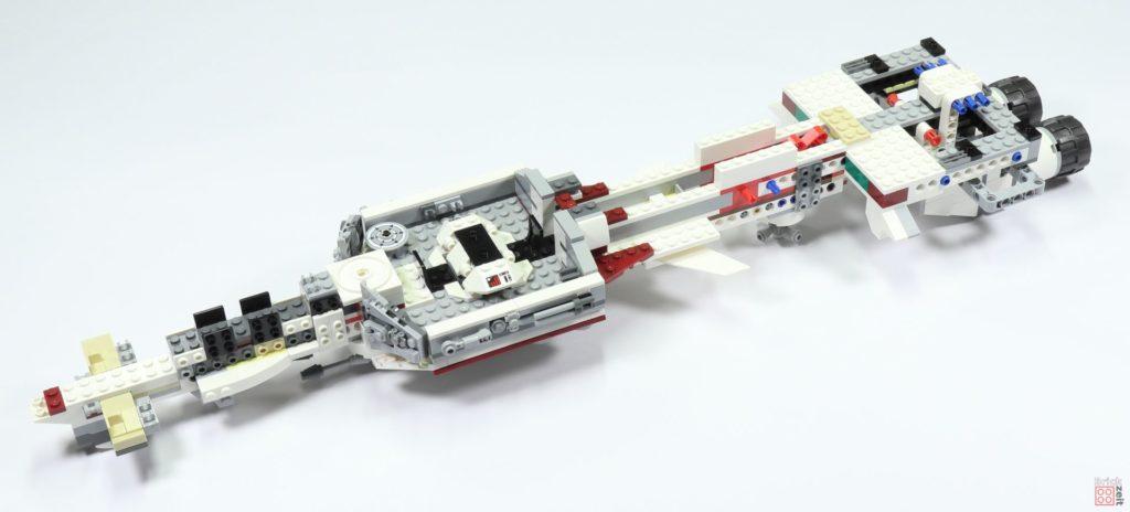 LEGO 75244 - Bauabschnitt 3, Teilschritt 1 fertig| ©2019 Brickzeit