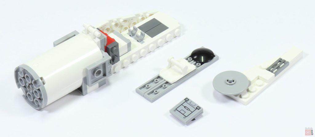 LEGO 75244 - Bauabschnitt 3, Einzelteile Antrieb | ©2019 Brickzeit