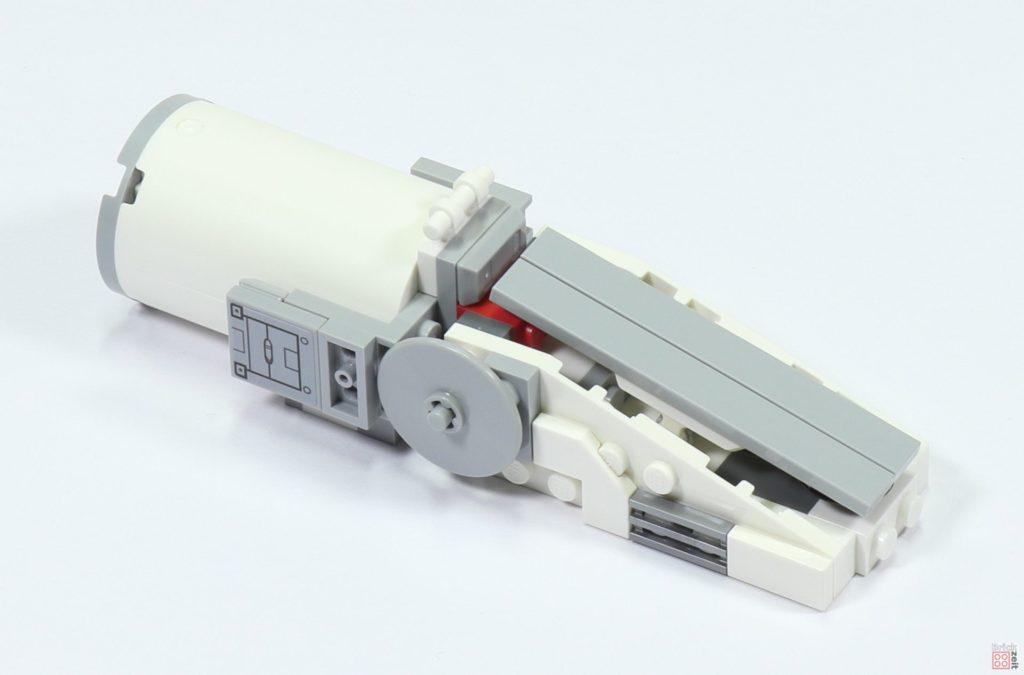 LEGO 75244 - Bauabschnitt 3, Antrieb im Bau | ©2019 Brickzeit