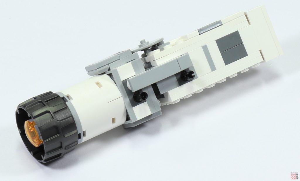LEGO 75244 - Bauabschnitt 3, Antrieb hinten rechts, Befestigung | ©2019 Brickzeit