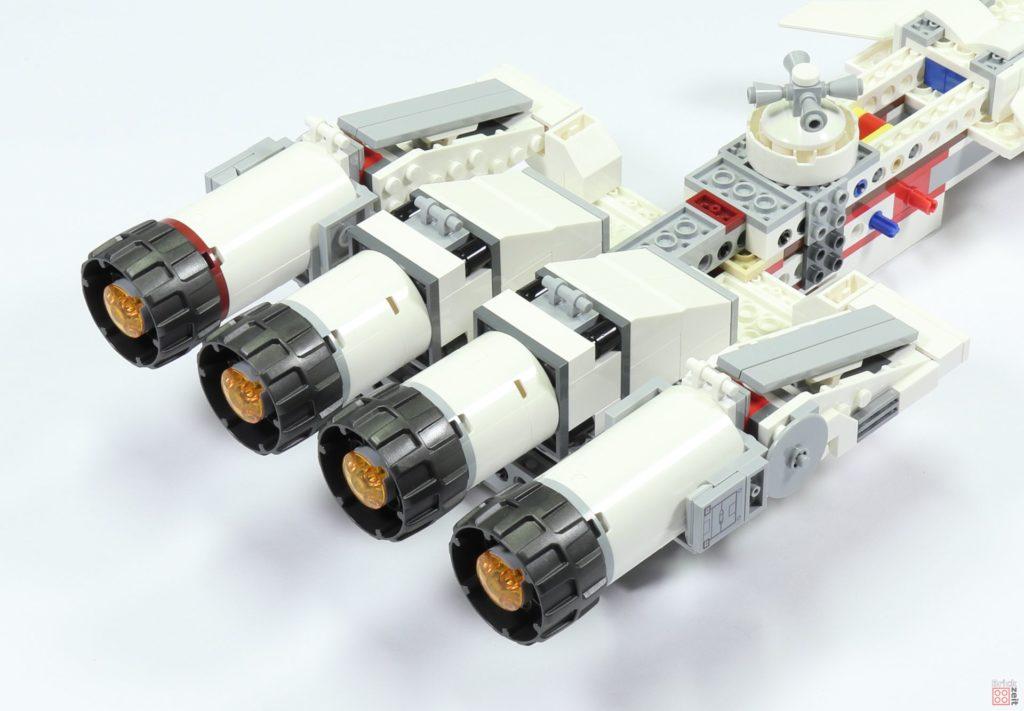LEGO 75244 - Bauabschnitt 3, Antriebe befestigt | ©2019 Brickzeit