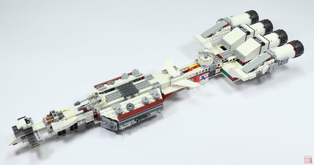 LEGO 75244 - Bauabschnitt 3, Telischritt 2 Unterseite | ©2019 Brickzeit