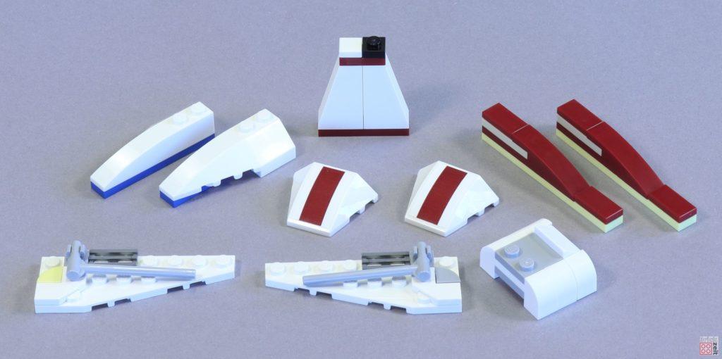 LEGO 75244 - Bauabschnitt 3, Einzelteile | ©2019 Brickzeit