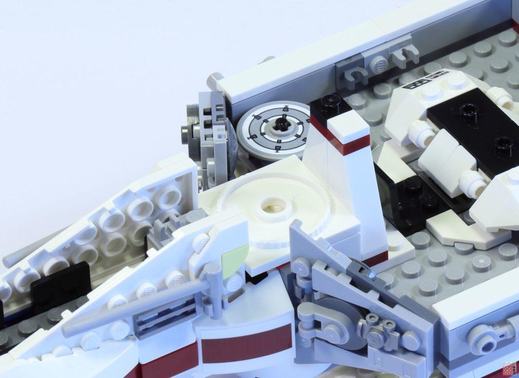 LEGO 75244 - Bauabschnitt 3, Geschützturm, Montageplatte | ©2019 Brickzeit