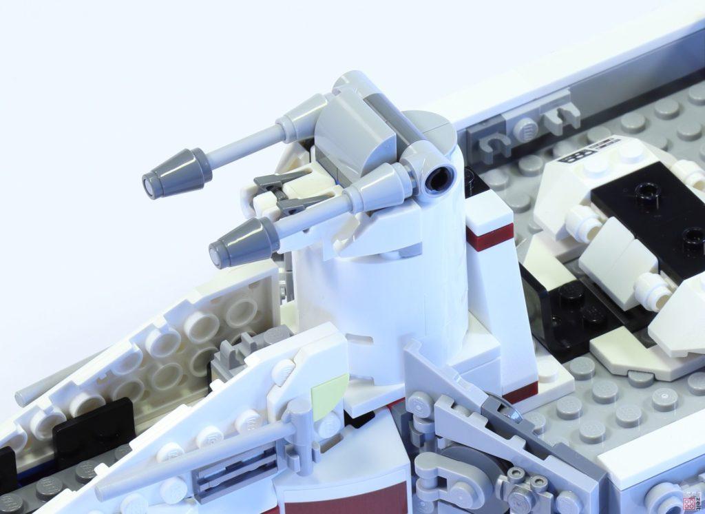 LEGO 75244 - Bauabschnitt 3, Geschützturm, montiert | ©2019 Brickzeit