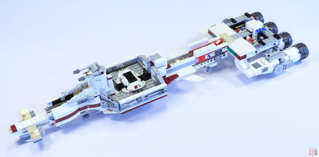 LEGO 75244 - Bauabschnitt 3 fertig | ©2019 Brickzeit
