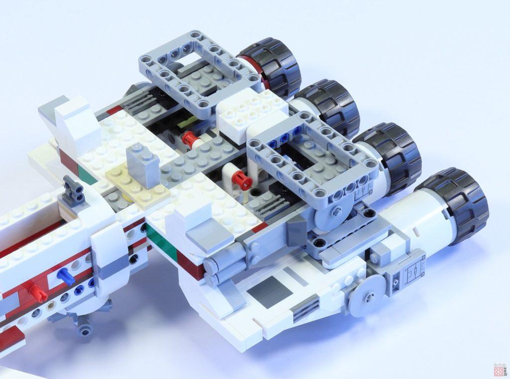 LEGO 75244 - Bauabschnitt 4, Zierelemente bei Antriebseinheit | ©2019 Brickzeit
