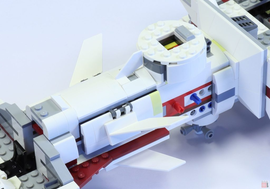 LEGO 75244 - Bauabschnitt 4, fertiger Bereich | ©2019 Brickzeit