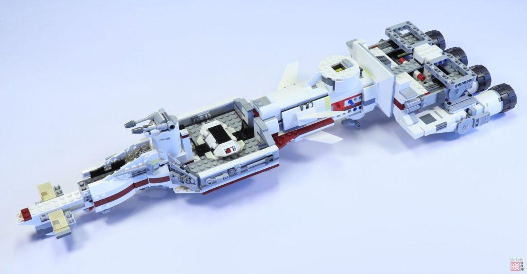 LEGO 75244 - Bauabschnitt 4, Teilschritt fertig | ©2019 Brickzeit