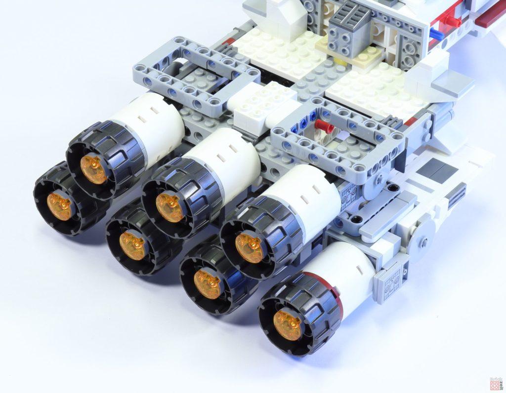 LEGO 75244 - Bauabschnitt 4, Sicht auf Antriebseinheit | ©2019 Brickzeit
