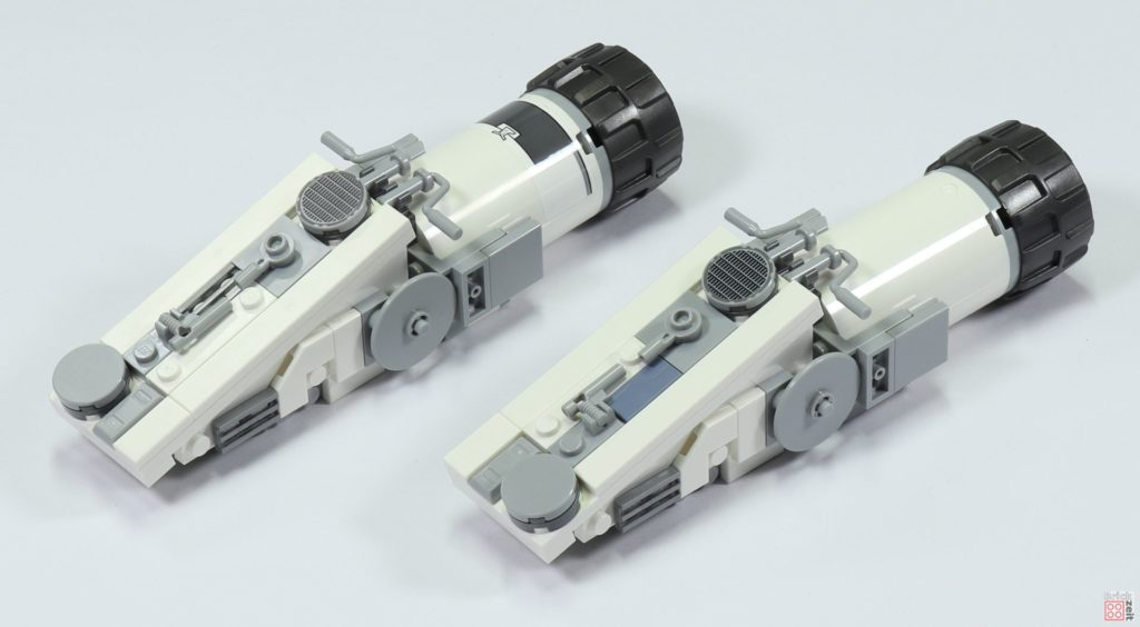 LEGO 75244 - Bauabschnitt 5, mittlere, obere Antriebe | ©2019 Brickzeit