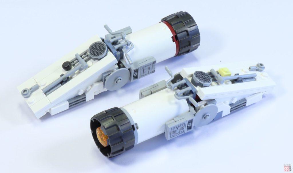 LEGO 75244 - Bauabschnitt 5, seitliche, obere Antriebe | ©2019 Brickzeit
