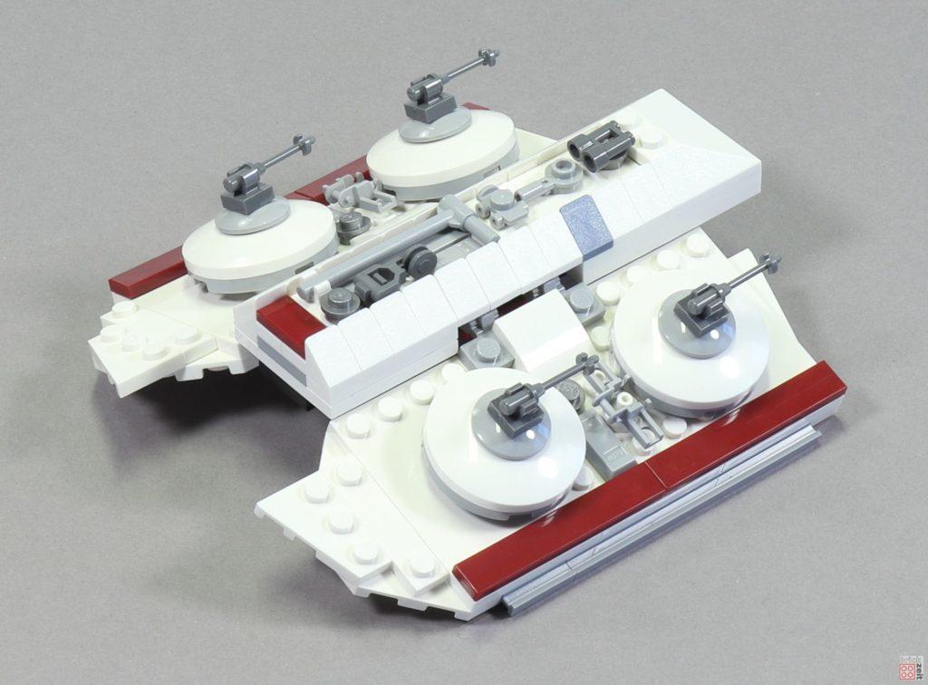 LEGO 75244 - Bauabschnitt 6, Abdeckung Aufenthaltsraum | ©2019 Brickzeit