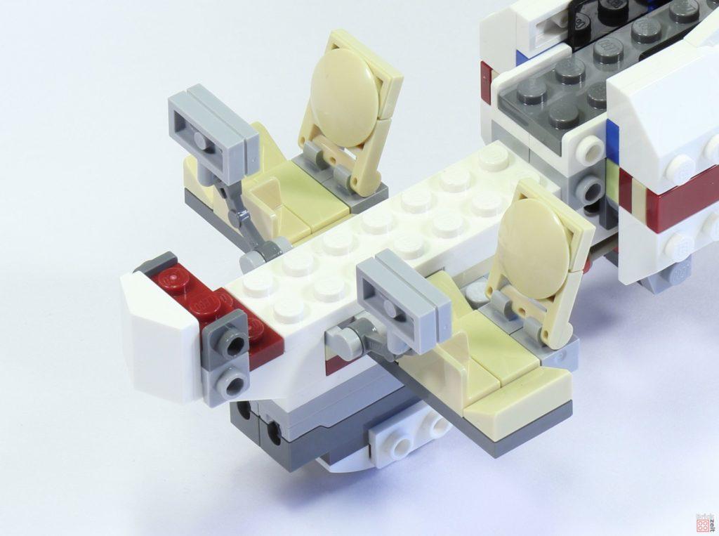 LEGO 75244 - Bauabschnitt 6, Cockpit vorne | ©2019 Brickzeit