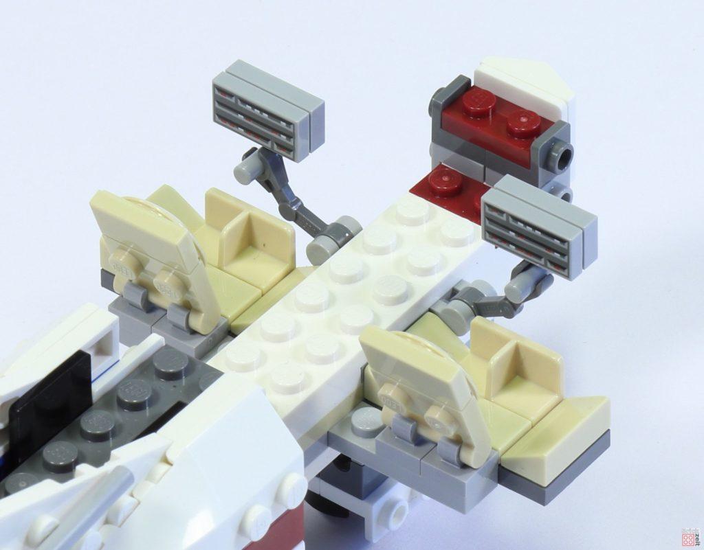 LEGO 75244 - Bauabschnitt 6, Cockpit hinten | ©2019 Brickzeit