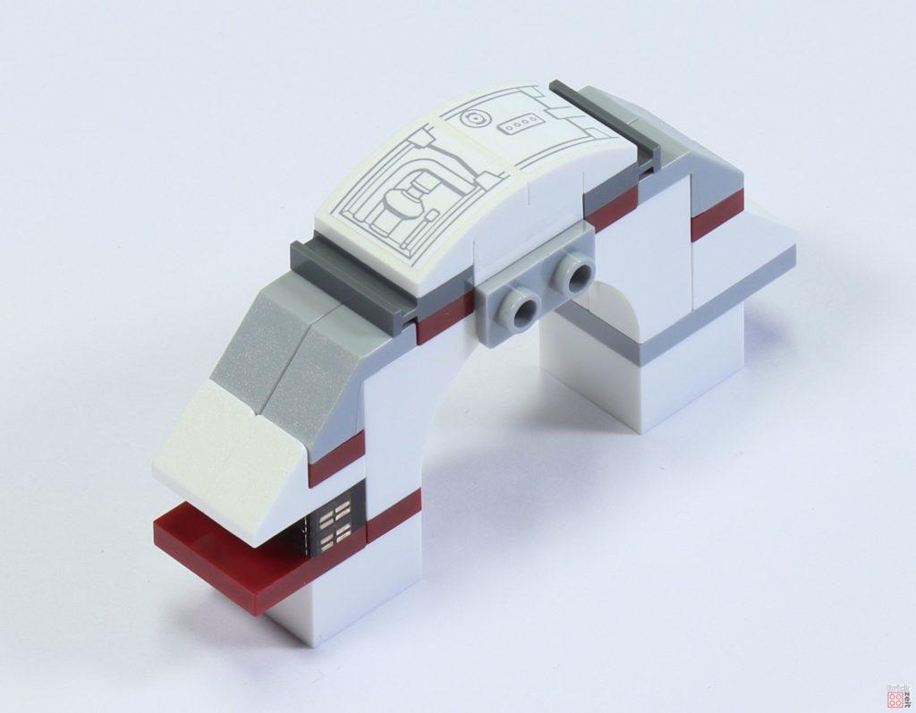 LEGO 75244 - Bauabschnitt 6, Cockpit Mittelstück | ©2019 Brickzeit