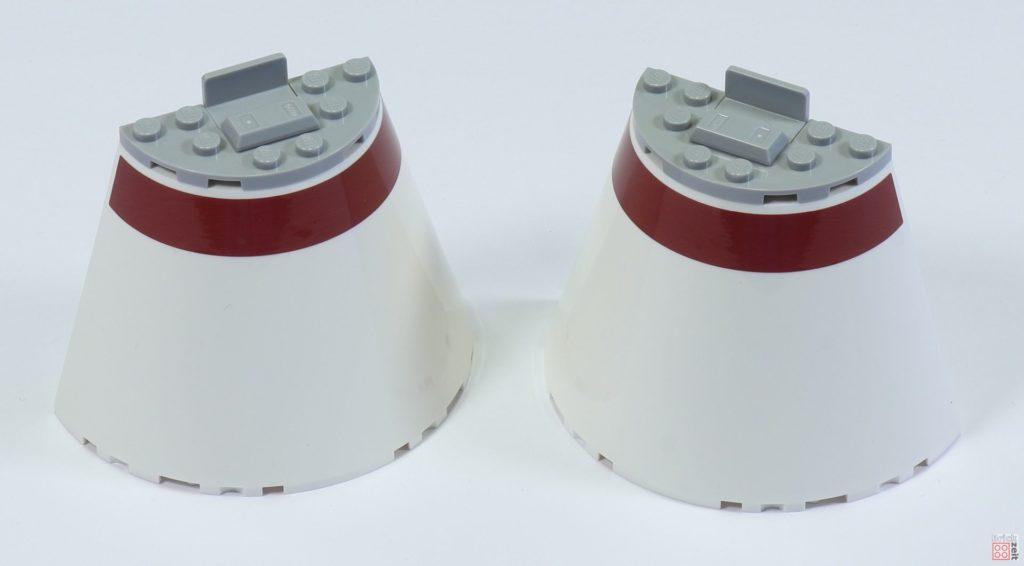 LEGO 75244 - Bauabschnitt 6, Teile für Cockpit Unterseite | ©2019 Brickzeit